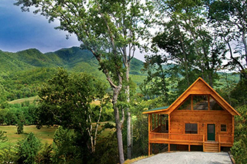 Smoky mountain cabin builder portfolio of log homes near Smoky mountain nc cabin rentals